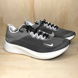 NEW Nike Zoom Fly SP Grey White